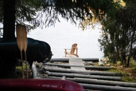 Muskoka Pine Adirondack stol - bestillingsvare