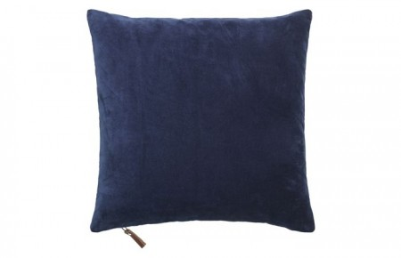 Cozy Living pute m/dunpute Royal Blu 50x50