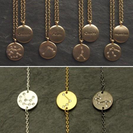 Stjernetegn smykker