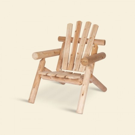 Rustic lodge chair